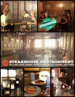 i13 Steakhouse Environment