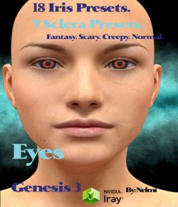 Genesis 2 and 3 Eyes- Iris and Sclera