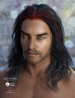 Ajax Hair for Genesis 3 Male(s)