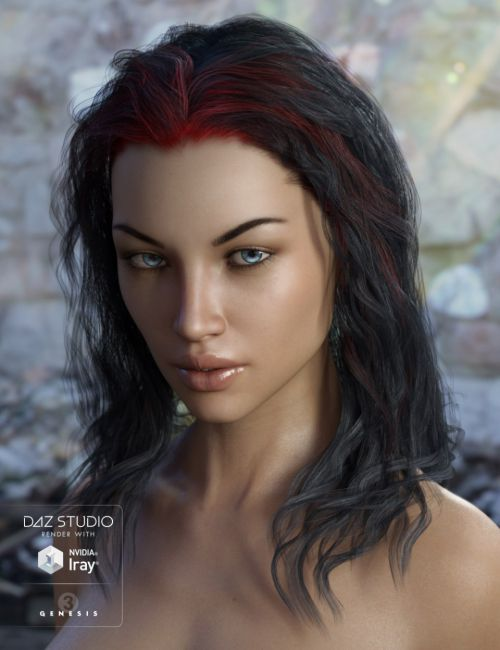 Ajax Hair for Genesis 3 Female(s)
