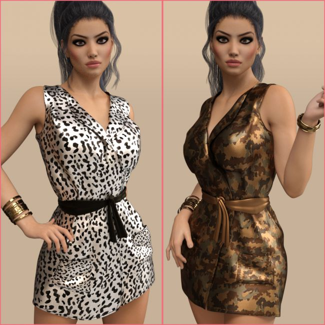 InStyle - Fashion Dress Outfit for Genesis 3 Females