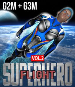 SuperHero Flight for G2M & G3M Volume 2