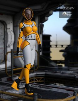 Epsilon Bodysuit for Genesis 3 Female(s)