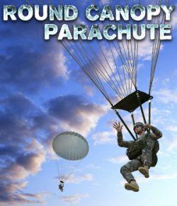 Round Canopy Parachute