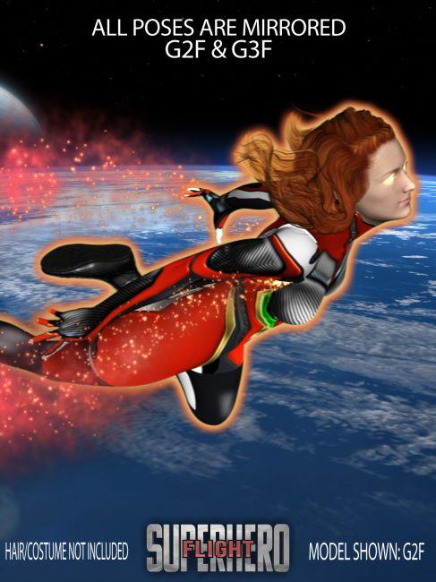 SuperHero Flight for G2F & G3F Volume 2