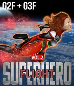 SuperHero Flight for G2F & G3F Volume 2