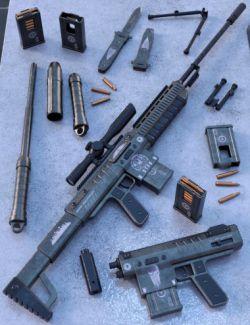 BEAR-250 Black Ops Set