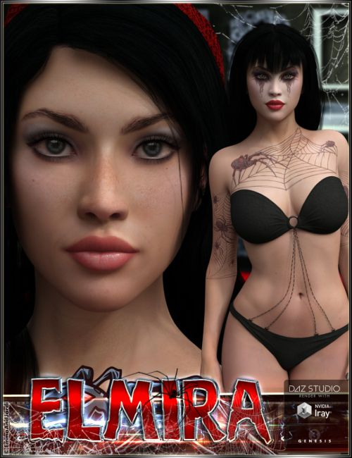 EJ Elmira for Genesis 3 Female(s)
