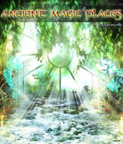 Ancient Magic Places- 2D backgrounds