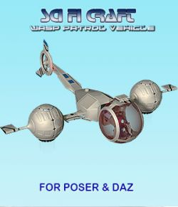 Sci Fi Craft Wasp Patrol Vehicle