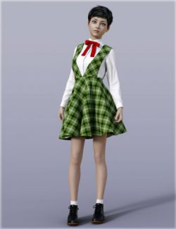 H&C School Uniforms A for Genesis 3 Female(s)