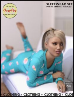 i13 On My Own Sleepwear for the Genesis 3 Female(s)