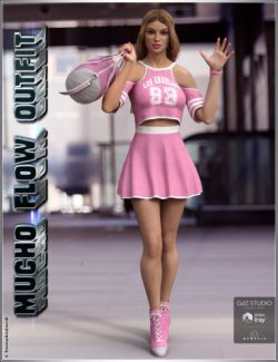 Mucho Flow Outfit and Accessories for Genesis 3 Female(s)