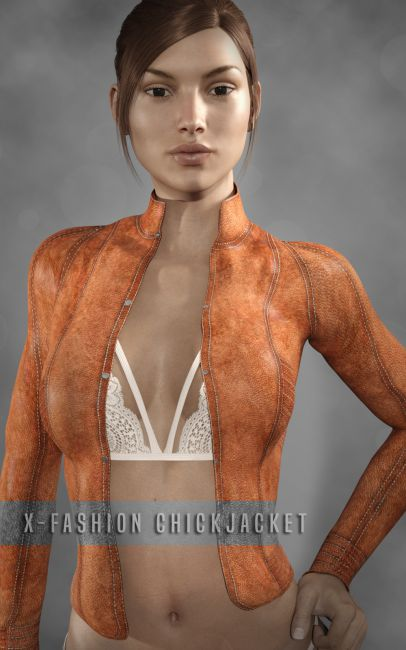 X-Fashion ChickJacket for Genesis 3 Female(s)