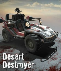 Desert Destroyer Vehicle- Extended License