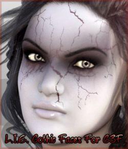 L.I.E. Gothic Faces For Genesis 3 Female