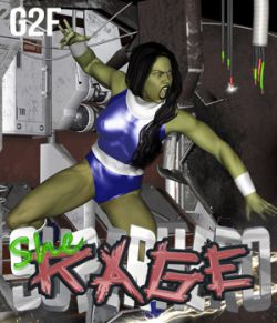 SuperHero She-Rage for G2F Volume 1