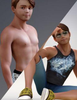 Stylized Matt Bundle for Genesis 3 Male(s)