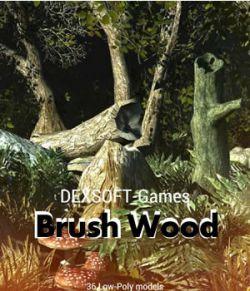 Brush Wood - Game models pack