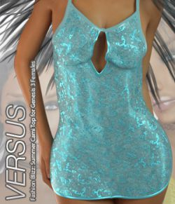 VERSUS- Fashion Blizz: Summer Cami Top for Genesis 3 Females