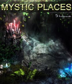 Mystic Places- 2D backgrounds