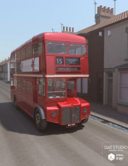 Vintage London Double Decker Bus