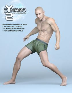 dYnamo 2 Poses for Genesis 3 Male(s)