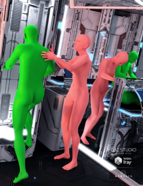 SS Marcoor Medbay Medical Poses for Genesis 3