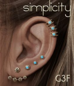 Simplicity Studs for G3F