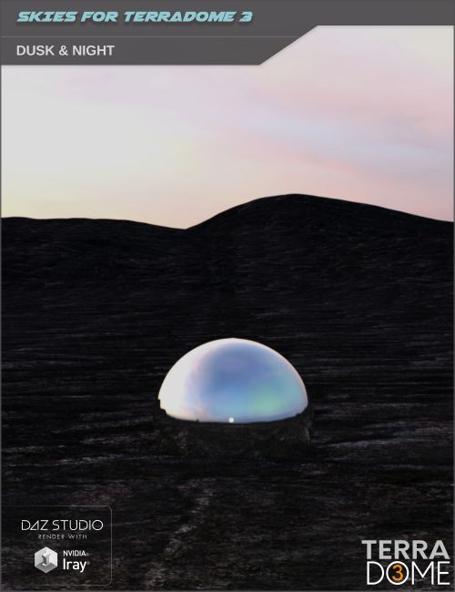HDR Sky Environments - Dusk & Night