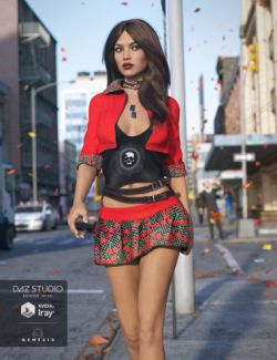 Urban Dweller Outfit for Genesis 3 Female(s)