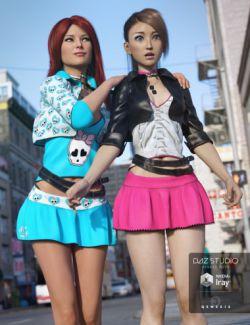 Urban Dweller Outfit Textures