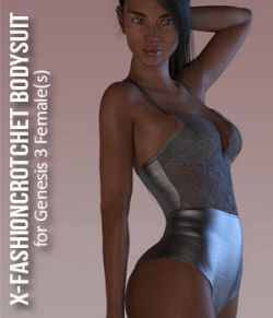 X-FashionCrotchet Bodysuit for Genesis 3 Female(s)