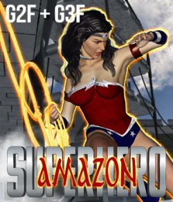 SuperHero Amazon for G2F & G3F Volume 1