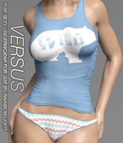 VERSUS- Sexy Underwear for Genesis 3 Females