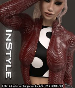 InStyle- X-Fashion ChickJacket for Genesis 3 Female(s)