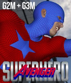 SuperHero Avenger for G2M & G3M Volume 1