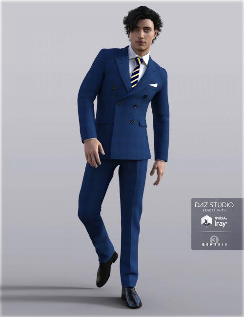 H&C Business Suit B for Genesis 3 Male(s)
