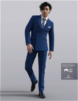 H&C Business Suit B for Genesis 3 Male(s)