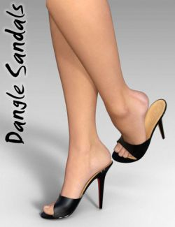 Dangle Sandals for Genesis 3 Female(s)