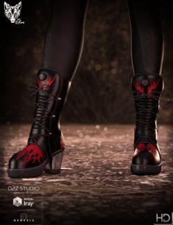 Rocker Platform Boots