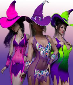 Charm Hot Witch