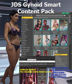 JDS Gynoid Smart Content Pack