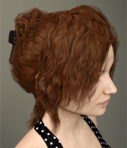 Margot Hair for Genesis 3 Female(s)