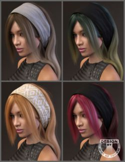 Elena Hair and OOT Hairblending 2.0 Texture XPansion