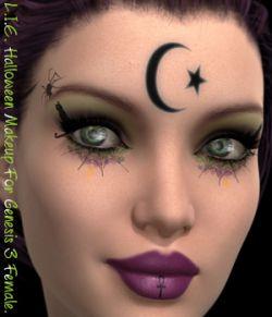 L.I.E. Halloween Makeup For Genesis 3 Female