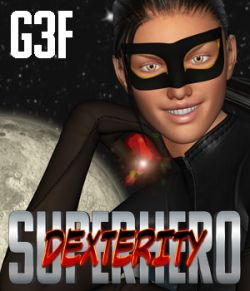 SuperHero Dexterity for G3F Volume 1