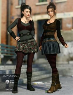 Gone Girl Outfit Textures