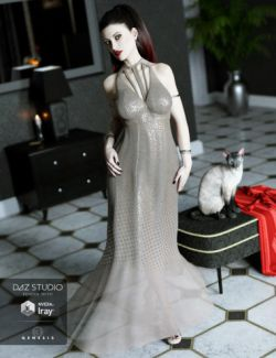 The Maxi Dress for Genesis 3 Female(s)