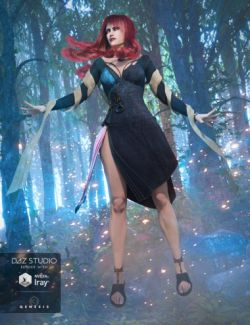 Morrigan Outfit for Genesis 3 Female(s)
